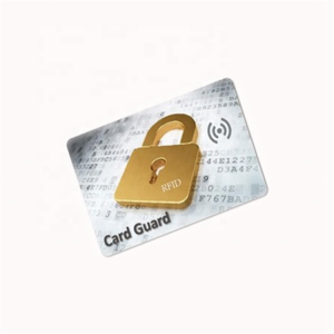 Hot Selling Custom Printed E-Shield RFID Protection RFID Blocking Card