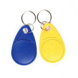 MF classic 4k NFC keyfob original S70 nxp waterproof rfid keychain