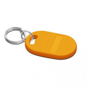 UHF ISO18000-6B Alien-H3 rfid keyfob customized design hotel keychain