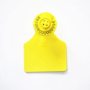 rfid animal ear tag MF Plus S/X NFC chip with memory 2k/4k for pig