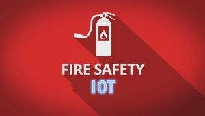 How is RFID technology used in fire safety?