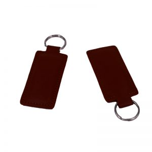 Leather Keyfob Fudan F08 1k rfid keyfob for hotel