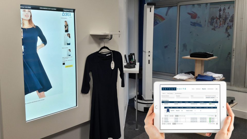How RFID UHF technology is applied to clothing management
