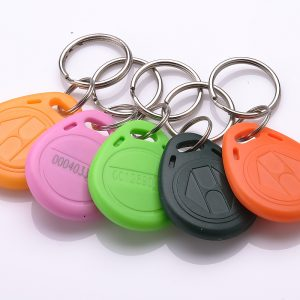 MF Desfire 2k/4k/8k NFC Keychain 13.56mhz Entrance rfid keyfob