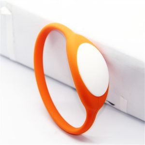 Waterproof NFC Bracelet, F08 1042bytes RFID Silicone Wristband