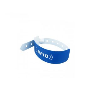Customized Size PVC RFID Bracelet, Programmable NFC Wristband For Festival