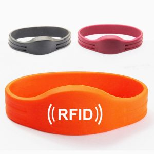 Classic 1k EV1 rfid silicone wristband, S50 nfc smart bracelet for cashless payment