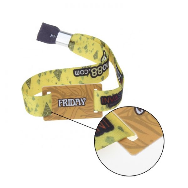 tk4100 Fabric RFID Wristband
