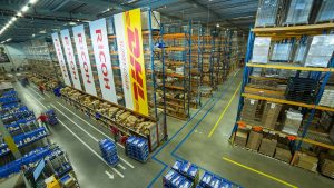 How does RFID pallet work in intelligent warehouse logistics system?