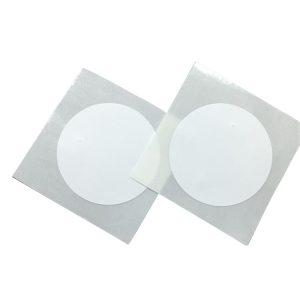 NTAG213 Dia 25mm adhesive 13.56mHZ RFID Sticker NFC blank white tag