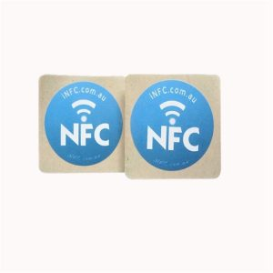 Printed Programmable RFID Tag With I-code Sli S Chip For Jewelry Mangement