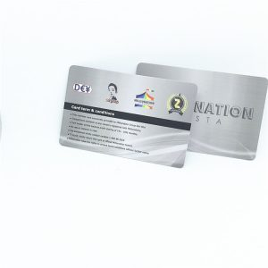 PET M4QT UHF RFID Card For Car Vehicle Management