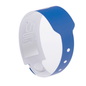 13.56mhz Ultralight EV1 RFID Wristbands For Case Management