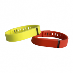 Waterproof Ntag213 NFC Silicone Wristband For Summer Music Events Ticket