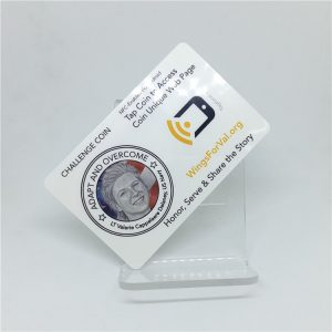 Printable Classic 4K 13.56MHZ RFID Label Tag With Customized Logo