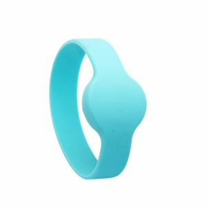 Watch type Writable 125KHZ EM4305 RFID Silicone Wristband With