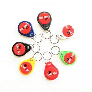 125khz ABS Proximity Smart Waterproof RFID Keyfob With TK4100