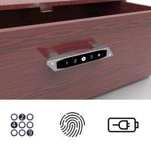 Top Selling Smart Fingerprint Lock Password Code Combination Drawer Lock For Cabinet Drawer