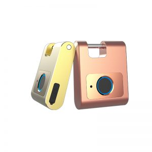 Fingerprint Padlock Bluetooth Luggage Keyless Smart Lock