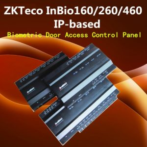Inbio 160/260/460 Free SDK TCP/IP Fingerprint Access Controller Panel With Power Protect Box And Battery