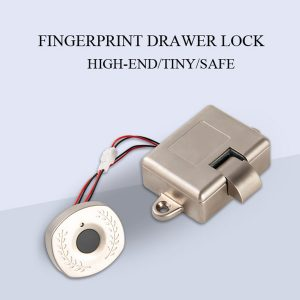 Fingerprint Drawer Lock Mini Small Cabinet Smart Lock For Furniture
