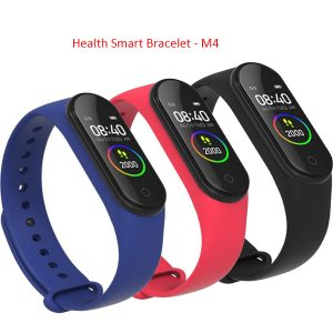 M4 Health Smart Bracelet Band Inteligente Pulseira 0.96 TFT Waterproof Watch Fitness tracker Wristband