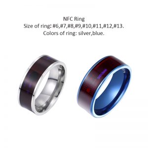 Smart Ring Wear New technology Magic Finger NFC Ring For Android Windows NFC Phones Support Drop shipping