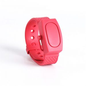 Portable Adjustable Silicone Hand Sanitizer Wristband Dispenser Bracelet For Kids