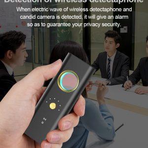 Bug Anti-spy Detector Camera RF Signal GSM Audio Bug Finder GPS Scan Detector for Hotel Anti Camera