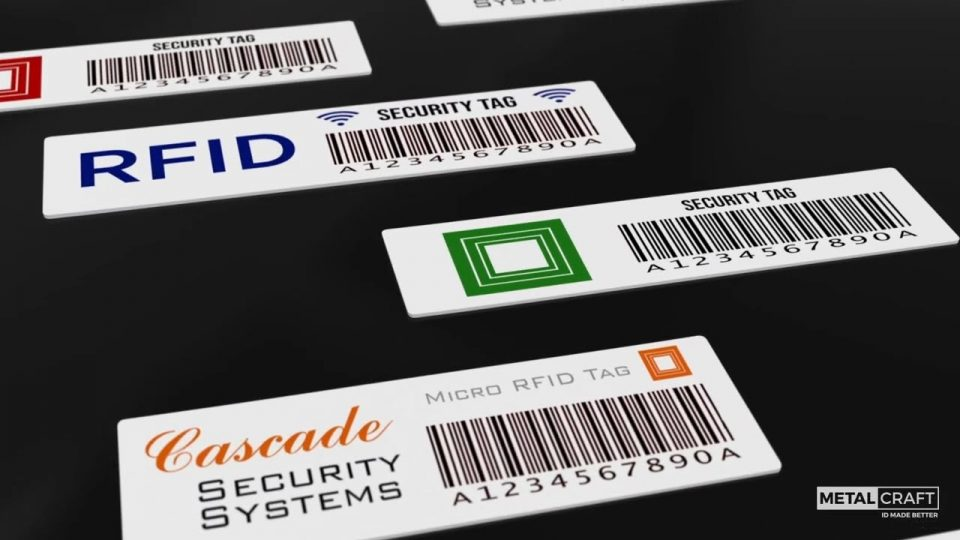 Various applications of RFID technology on glass