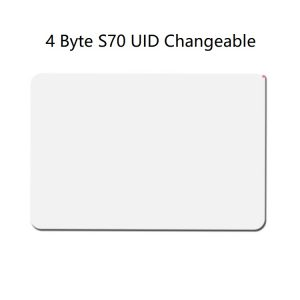 $20 Unit Price 13.56mhz 4 Byte UID Mifare 4k S70 UID Changeable (Pack of 5 pcs)