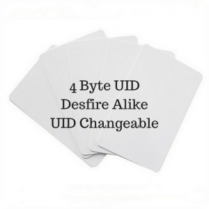 $35 Unit Price 4Byte UID Changeable Card with Desfire SAK/ATQA (Pack of 5 pcs)