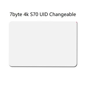 $20 Unit Price 7 Byte MF 13.56mhz UID Magic Non-Backdoor Command Thin Cards (White) (Pack of 5 pcs)