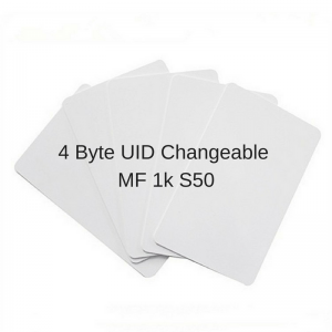 $18 Unit Price Gen2 Perfect MF 1k S50 UID Changeable Block 0 Rewritable Or 4byte UID Changeable MF 1k S50 (Pack of 5 pcs)
