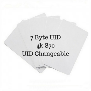 $24 Unit Price 7byte UID Mifare 4k S70 UID Changeable (Pack of 5 pcs)