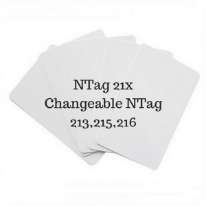 $35 Unit Price Ntag21x Magic Cards UID Changeable 213,215,216 Version Changing (Pack of 5 pcs)