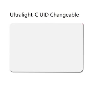$20 Unit Price Ultralight-C 13.56mhz UID Changeable Magic Thin Card (White) (Pack of 5 pcs)