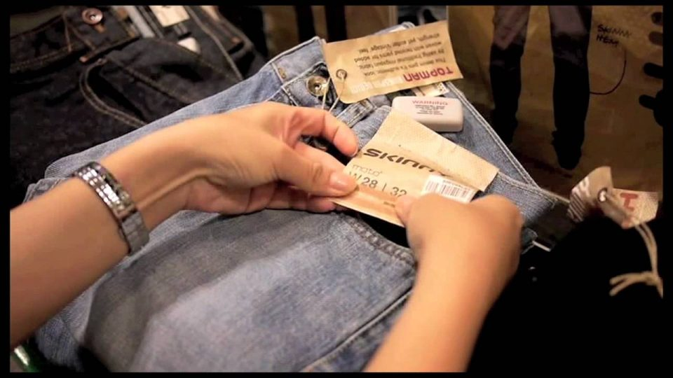 What is the use of RFID tags on GUCCI, ZARA and NIKE?