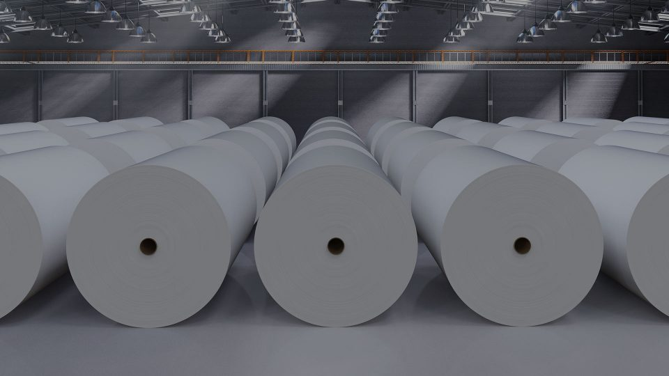 How to use RFID to manage paper roll transport?